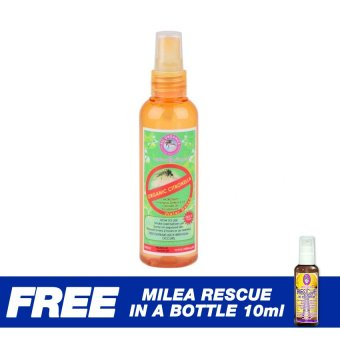 Milea Citronella Insect Repellent Water-based Spray 100ml Set of 2with Free Rescue In A Bottle 10ml Price Philippines