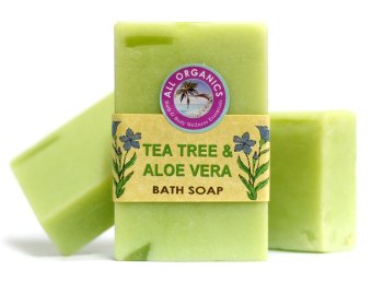 Milea Organic Tea Tree w/ Aloe Vera Soap 100g Set of 3 Price Philippines