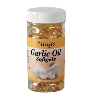 Ming's Garlic Oil Softgel Capsules Bottle 200