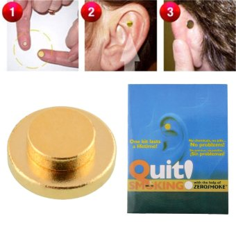 Mini Quit Smoking Acupressure Care Auricular Magnet Tile Therapy Health Care