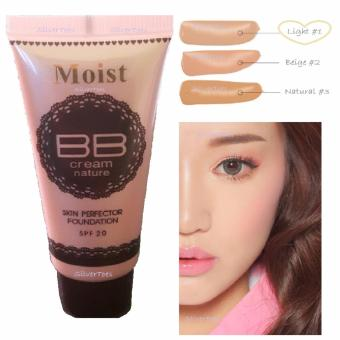 Moist BB Cream Skin Perfector LIGHT Shade#1 Liquid Foundation SPF20 Single