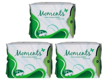 Moments Anion Sanitary Napkins set of 3 Price Philippines