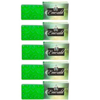 Mont Sapo Emerald All-In Soap 120g Set of 5
