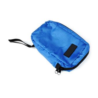 Moonar Convenient Nylon Cosmetic Travel Storage Bag Blue