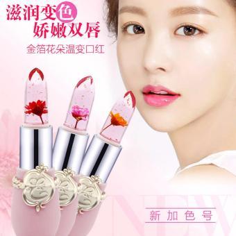 Morganstar #034 Flower Moisturizing Lipstick Waterproof Transparent Lipstick#01 - 2