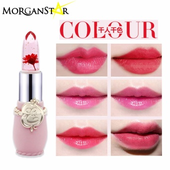 Morganstar #034 Flower Moisturizing Lipstick Waterproof Transparent Lipstick#02