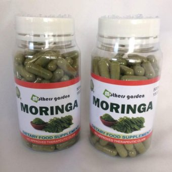 Mothers Garden Moringa Capsule 500mg/150 Capsule Set of 2 Price Philippines