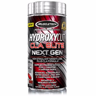 Muscletech Hydroxycut CLA Elite Next Gen, 100 Softgels Price Philippines