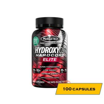 MuscleTech HydroxyCut Hardcore Elite Fat Burner - 100 Capsules