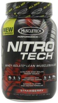 MuscleTech Nitro-Tech Performance Series Strawberry 907 grams