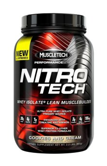 Muscletech Nitrotech Performance Series Cookies and Cream 907 grams