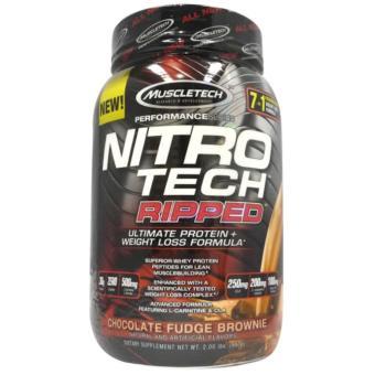Muscletech Nitrotech Ripped 2 lbs. chocolate
