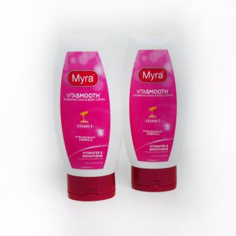 Myra Vita Smooth Hydrating Hand & Body Lotion w/ Vitamin E200ml 2's (Pink) 413413 W42 (SP)