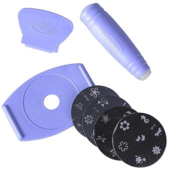 Nail Art Stamping Kit - 4
