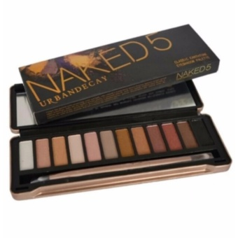 Nake 5 Makeup Eyeshadow Palette 12 Collors Nk5 Eye Shadow WithBrush Make Up Set