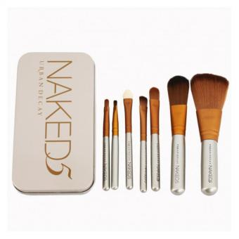 Naked5 Professional Makeup Brush Set Makeup Tool 7pcs set