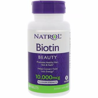 Natrol Biotin Maximum Strength 10,000 mcg, 100 Tablets