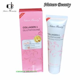 Nature Beauty Collagen And Glutathione Peeling Cream 100g