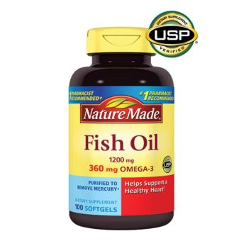 Nature Made Fish Oil 1200mg (200 Soft Gels) Price Philippines