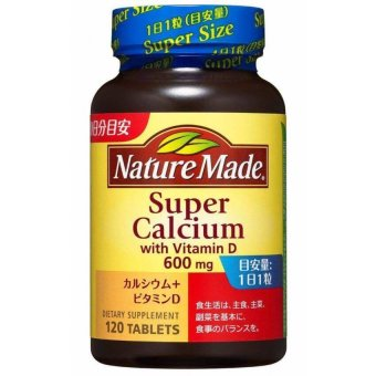 Nature Made Super Calcium 600 mg with Vitamin D 120 Tablets Price Philippines
