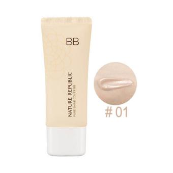Nature Republic Pure Shine Cover BB 01 Light Beige 35g Korean Cosmetics