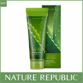 Nature Republic Real Squeeze Aloe Vera Sleeping Pack 160ml