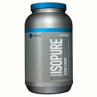 Nature's Best Perfect Zero Carb Isopure, Creamy Vanilla 3 lbs
