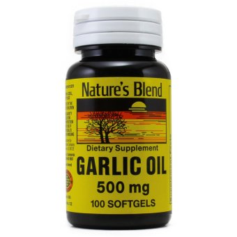 Nature's Blend Garlic Oil 500 mg, 100 Softgels