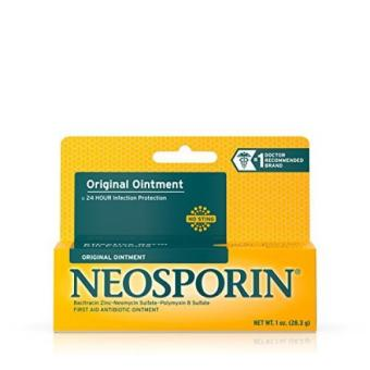 Neosporin Original Ointment For 24-hour Infection Protection 1 Oz