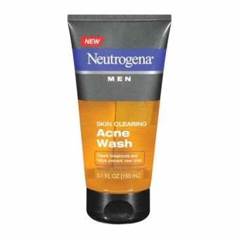 Neutrogena Men Skin Clearing Acne Wash 150ml