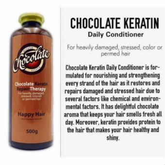 New 2017 Chocolate Keratin Repair Therapy Daily Conditioner 500g - 2