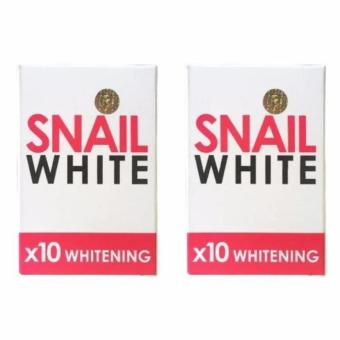 New Best Quality Snail White 10x Whitening Soap (set of 2)
