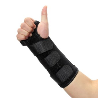New Carpal Tunnel Medical Wrist Brace Support Sprain Arthritis Splint Band Strap Right M - Intl