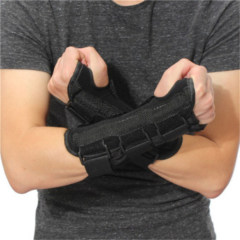 New Carpal Tunnel Medical Wrist Support Brace Support Pads Sprain Forearm Splint Band Strap Protector Safe - intl