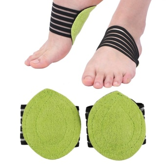 New Fashionable Foot Heel Pain Relief Plantar Fasciitis InsoleSupport Shoes Insert Pads - intl