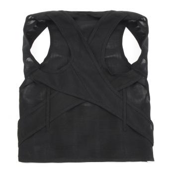 New Posture Back Shoulder Lumbar Corrector Support Brace Belt Therapy Adjustable M - 3