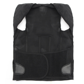 New Posture Back Shoulder Lumbar Corrector Support Brace Belt Therapy Adjustable M - 2