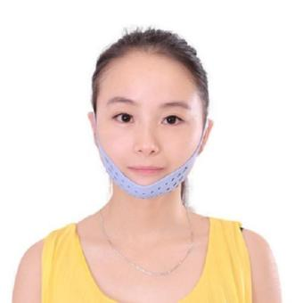 New Silicone Face lift double chin Wrinkle V Face Chin Cheek Lift Up Slimming Slim Mask Ultra-thin Belt Strap Band (...) - intl