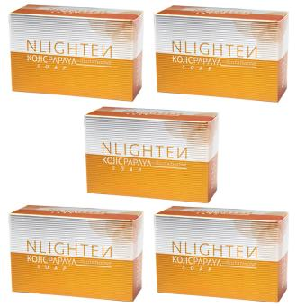 Nlighten Anti Acne Soap (Nlighten Kojic Papaya Soap withGlutathione)