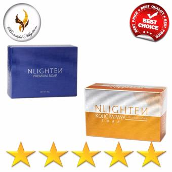 NLIGHTEN Lightening and Softening Set of Beauty Soap - 2