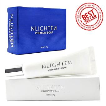 Nlighten Underarm Moisturizing and Whitening Set (PremiumSoap,Underarm Cream)