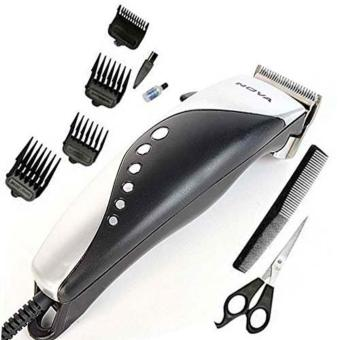 Nova NS-3767HC Hair Clipper Trimmer Professional (Black/Silver)
