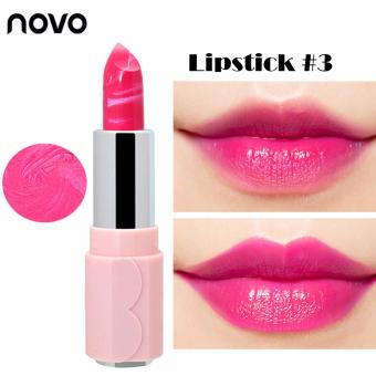 NOVO #5117 Durable Ice Cream Moisturizing Glossy Lipstick #3 - 2