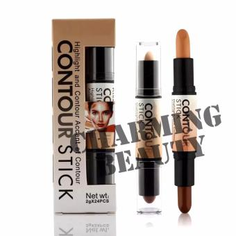 Nude Ashley Shine Highlight and Contour Accent et Contour Stick