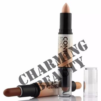 Nude Ashley Shine Highlight and Contour Accent et Contour Stick | 3 shades (A,B,C) - 2