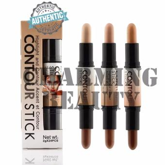 Nude Ashley Shine Highlight and Contour Accent et Contour Stick | 3 shades (A,B,C)
