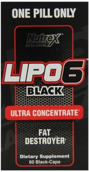 Nutrex Research Lipo 6 Black Ultra Concentrate Diet SupplementCapsules, Box of 60 Price Philippines