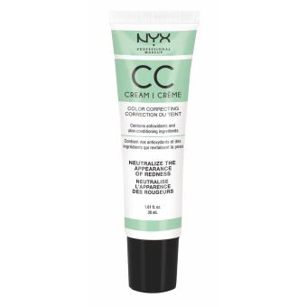 Nyx Professional Makeup CCCR01 Color Correcting Cream - Green Light/Medium