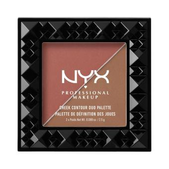 Nyx Professional Makeup CHCD04 Cheek Contour Duo Palette - Wine & Dine Price Philippines