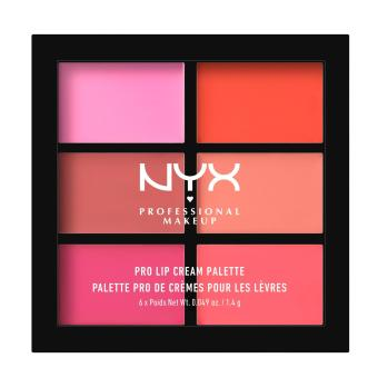 NYX Professional Makeup PLCP01 Pro Lip Cream Palette - The Pinks